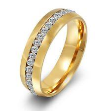 Edelstahl Verlobungsring Partnerring Trauringe Ehering Freundschaftsring Gold