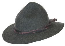 Trachtenhut Ur-Tiroler grober Kordel Dreispitzform Kultig zur Lederhose anthra