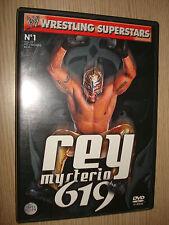 DVD N° 1 WRESTLING SUPERSTARS REY MISTERIO 619
