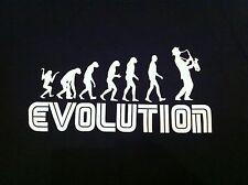 Evolution Jazz Blues Soul Saxophone Sax Player Tee Shirt All Size Christmas Gift