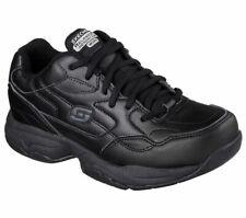 Skechers Work Womens Felton Albie Memory Foam Leather Slip Resistant Shoe 76555