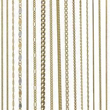 gelb Goldkette 333er, 585er, 750er PANZERKETTE SINGAPUR ERBS Damen Herren Kinder
