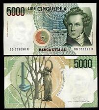 5000 Lire Bellini  Lettera  D   FDS