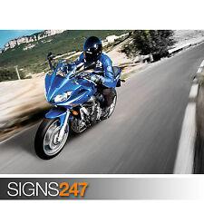 Yamaha FZ6 Fazer S2 (1646) Moto AFFICHE-POSTER print ART A0 A1 A2 A3 A4