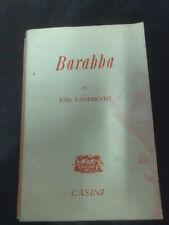 PAR LAGERKVIST BARABBA CASINI EDITORE 1953