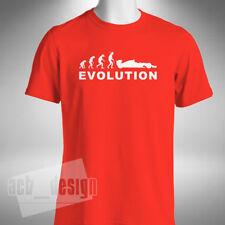 Formule 1 Evolution T-Shirt Homme Drôle Motor Car Racing Hamilton Vettel