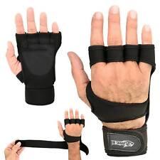 Fitness Gym Weightlifting gloves Neoprene Wrist Support Wraps Straps Gel Grip BL