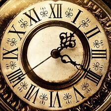 Wandsticker aufkleber deko : Uhr - ref 1268 (25 größe)