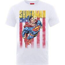 T-SHIRT SUPERMAN US FLIGHT ORIGINALE MAGLIA TSHIRT FUMETTI UFFICIALE DC COMICS