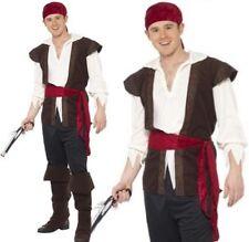 Herren Karibik Piratenkostüm Herren Jack Outfit NEU von Smiffys