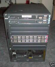Cisco WS-C6509 6509 2x X6K-S2U-MSFC2 2x 6516-GBIC 2xPSU
