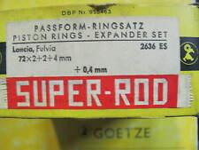 FASCE PER PISTONI DIAM.72 magg.+0,4mm LANCIA FULVIA-PISTON RINGS