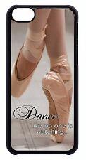 Ballet Ballerina Dancer Shoes Quote Back Hard Case Cover For Apple iPod 4 5 6