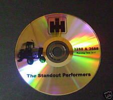 Sales DVD for Farmall IH International Tractor 3288 3688