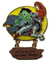 Disney Pirates of the Caribbean Davy Jones Pin