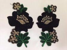 Motif Floral-fer/coudre sur Brodé Fleur Embellissement Applique - 1001 m