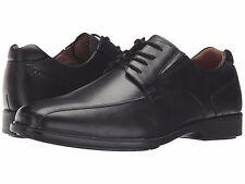 Hush Puppies Men's Henning Workday Black Leather Oxford Comfort Dress Shoe 1477