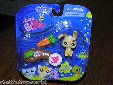 Littlest Pet Shop Messiest Bunny w Carrot #972 NIB