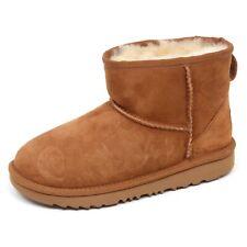 E7768 stivale bimba CHESTNUT UGG K CLASSIC MINI scarpe boot kid girl