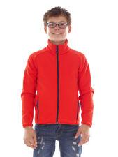 CMP giacca di Pile Giacca sportiva giacca funzionale ROSSO COLLETTO TRASPIRANTE