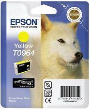 ORIGINALE EPSON T0964 YELLOW CARTUCCIA DI INCHIOSTRO PER STYLUS PHOTO R2880 HUSKY