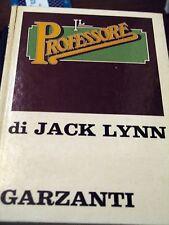 JACK LYNN - IL PROFESSORE 1972 PRIMA EDIZIONE