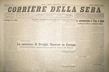 """"""" CORRIERE DELLA SERA """" N°65  MARTEDI' 17 MAR.1931 ( ORIGINALE D'EPOCA ! )"""