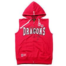 St George Lllawarra Dragons Mens Sleeveless Hoody Size S-3XL