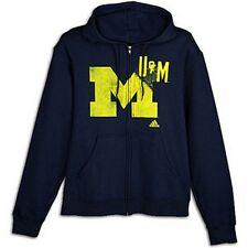 Michigan Wolverines sweatshirt Adidas NWT Big Blue NCAA hoody UM Ann Arbor