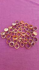 Holzringe Ringe aus Holz wood rings Schmuck Größe: 15 - 20mm Ethno Vintage