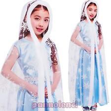 Disfraz niña carnaval Princesa Reina la hielo niña nuevo DC-7694