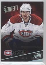 2013 Panini Prime Holo Silver #48 Max Pacioretty Montreal Canadiens Hockey Card