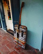 DIY Bass Guitar Improvisation, NEW ORLEANS 8x10 Photo Signed by Louis Maistros