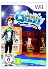 Nintendo Wii Spiel - Crazy Quiz (mit OVP)