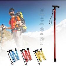 Adjustable Anti-Shock Hiking Stick Telescopic Trekking Pole Alpenstock 7S