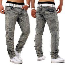 Herren Marken Jeans Hose Top-Design Clubwear Slim Fit Chick SAYYEAH knitter Plus