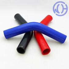 Manguera de Silicona de 45 grados Codos Refrigerante Agua Boost entrada de tuberías Reforzado