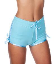 Hering Junior Women's Low Rise Drawstring Cotton Shorts Style 6717