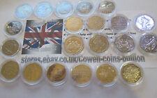 VARI COMMEMORATIVE & REGIONALE 50P monete centesimi UNC - OTTIME CONDIZIONI /