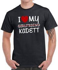 T-SHIRT I LOVE MY girlfriend KADETT tuning treffen Gti 16v turbo opel Satire Fun