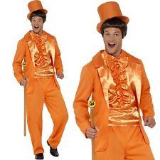 UOMO ANNI 90 ANNI '90 Dumb Guy smoking Costume Arancione da SMIFFYS NUOVO