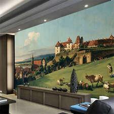 Sonnenstein Castle View Full Wall Mural Photo Wallpaper Print Kids Home 3D Decal