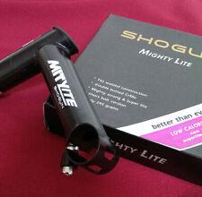 Shogun Retro Schaftvorbau CrMo 1 1/8 Zoll, 100/120/135/150mm, 10°, schwarz, 245g