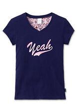 SCHIESSER Mädchen Mix & Relax T-Shirt YEAH V-Ausschnit  140 152 164 176 Shirt