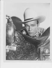 Roy Rogers w/six guns RARE Photo