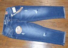 Wallflower Luscious Curvy Capri Vintage Collection Aura Jean Denim Cropped Jeans