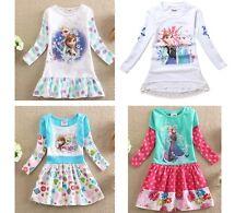 Frozen - Vestiti Bambina - Girl Dresses - Manica Lunga Mini Dress A00021-2-3
