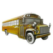 Men Belt Buckle 3D School Bus Belt Buckle Gurtelschnalle Boucle de ceinture