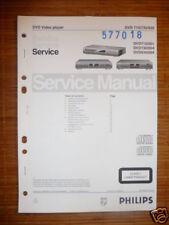 Service Manual Philips DVD 710/730/930  Player,ORIGINAL