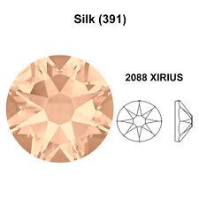 SILK (391) Genuine Swarovski Crystal 2058 & 2088 Flat back Rhinestone *All Sizes